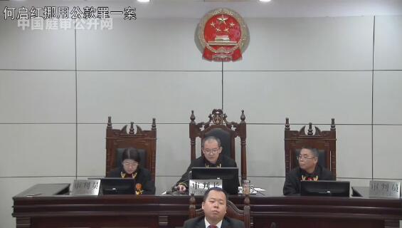 何启红挪用公款 (2017)青01刑终11号